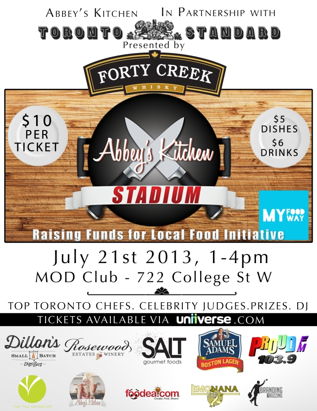 Abbey's Kitchen Stadium flyer
