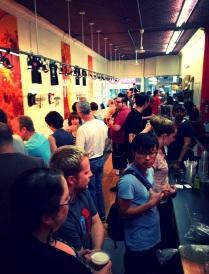 Crowds amass at Knifewear Ottawa