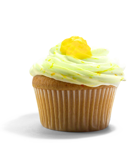 Guccis Goodies - lemon poppyseed cupcake